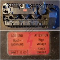 Крышка клапанная для ДВС N62 1-4 цилиндр 11127547058 , 11127537733