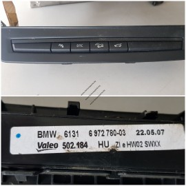 Блок кнопок на передней панели BMW Е70-71   61316972780