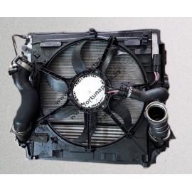 Кассета радиаторов подходит к F15 , F16 c двигателем N57 , N55 , N47