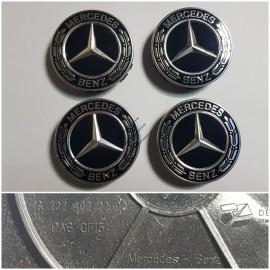 Колпачки для литых дисков BLACK - A2224002200