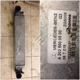 Радиатор интеркулера A2035000500