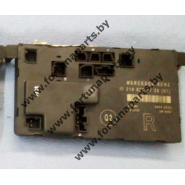 Блок управления электрикой передней правой двери A2198200726