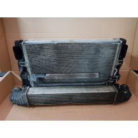 Кассета радиаторов W211 , W219 OM642