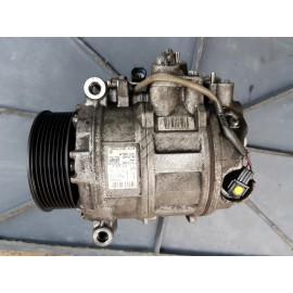 Компрессор кондиционера А0022301111 с двигателем OM 642 шкив на 8 ручьев