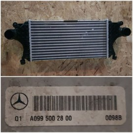 Радиатор интеркулера  W292 , W166 - A0995002800 ОМ642 , ОМ654