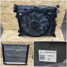 Вентилятор радиатора Х166 , W166 , W222  A0999064000   850 ватт