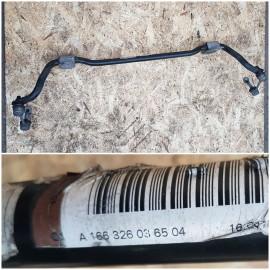 Стабилизатор поперечной устойчивости задний A1663260365
