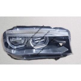 Фара правая светодиодная с функцией адаптивное освещение поворотов F15, F16- 63117317106