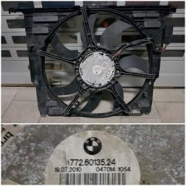 Вентилятор радиатора F10,F01,F07, F12- 17428509741, 17427599493 , 17427802943